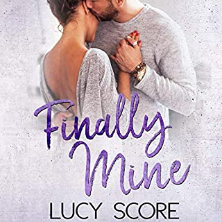 Finally Mine: A Small Town Love Story audiobook cover art