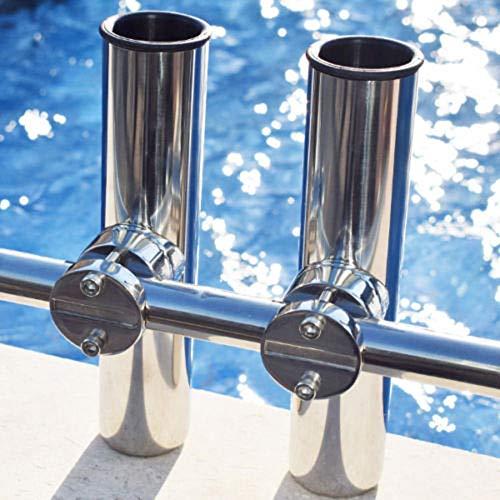 VISLONE Support de Canne à pêche pour Bateaux Marins...