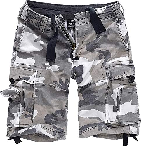 Brandit Vintage Classic Shorts, Gr.- XXL, Urban Camouflage