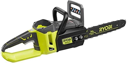Ryobi 14 Inch 40-Volt Brushless Chainsaw Without Battery and Charger