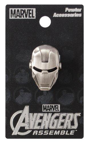 Marvel Broche Tête d'Iron Man en étain