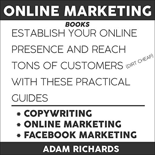 Page de couverture de Online Marketing Books