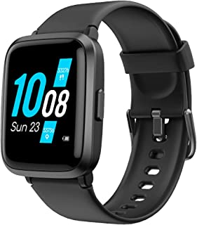 Reloj inteligente Yamaha 2020 Ver. Relojes para Hombres Mujeres Fitness Tracker Blood Pressure Monitor Blood Oxygen Meter Heart Rate Monitor IP68 Impermeable, Smartwatch Compatible con iPhone Samsung Android Teléfonos Negro