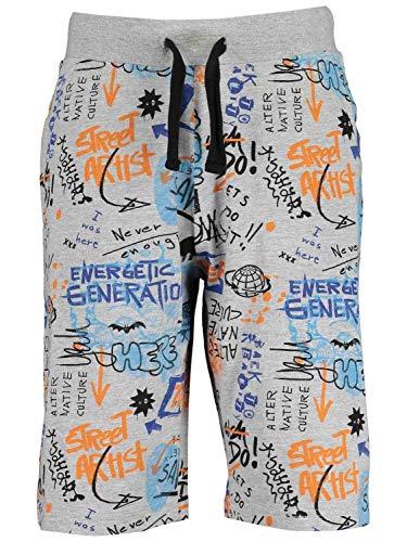 blue seven Bermudas niño Gris con Estampado de graffitis 633051-X-920 12 Anni
