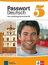 Passwort Deutsch: Kurs- und Ubungsbuch 5 mit Audio-CD