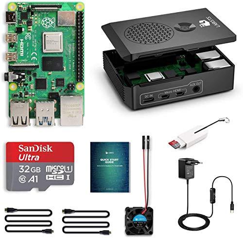 LABISTS Raspberry Pi 4 Model B Kit de 4 GB con SD de 32GB