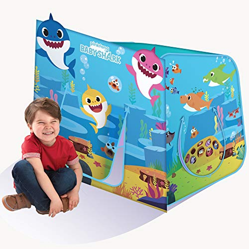 Playhut Pinkfong Baby Shark Hide N Play Pop-Up Play Tent, Ages 3+