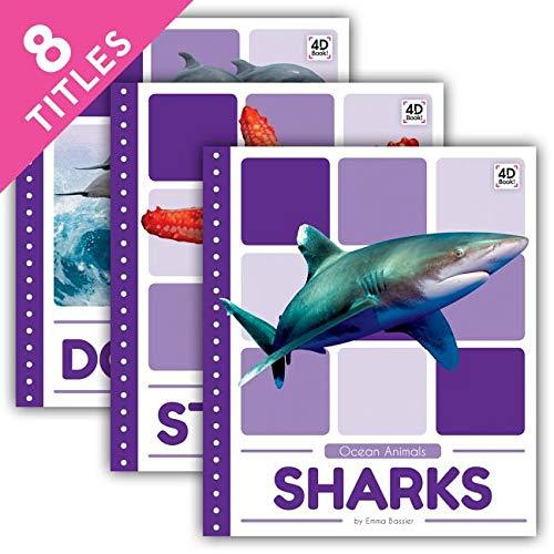 Ocean Animals Set: Clown Fish / Dolphins / Jellyfish / Octopuses / Sea Turtles / Sharks / Starfish / Whales (Ocean Animals (Pop))