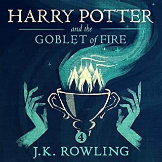 Harry Potter and the Goblet of Fire, Book 4                   Written by:                                                                                                                                 J.K. Rowling                               Narrated by:                                                                                                                                 Jim Dale                      Length: 21 hrs and 12 mins     931 ratings     Overall 4.9