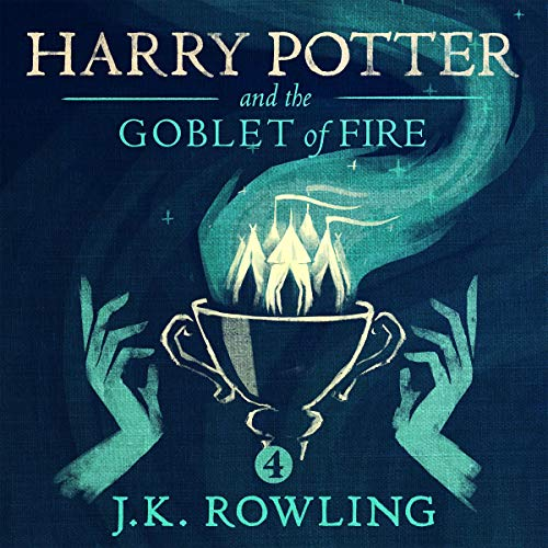 Harry Potter and the Goblet of Fire, Book 4                   Written by:                                                                                                                                 J.K. Rowling                               Narrated by:                                                                                                                                 Jim Dale                      Length: 21 hrs and 12 mins     940 ratings     Overall 4.9
