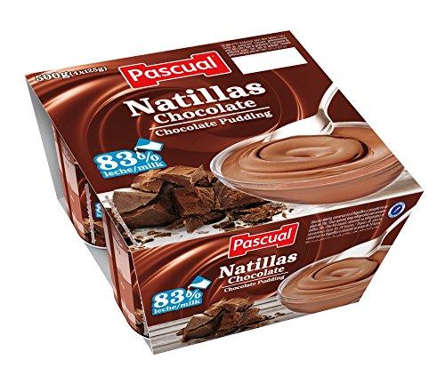 Pascual - Natillas de Chocolate - Pack de 4 x