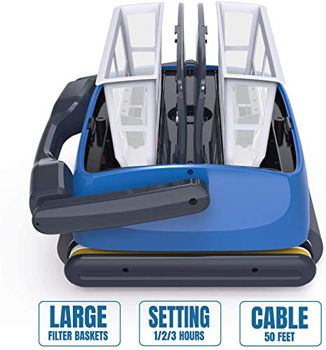 QOMOTOP Automatic Robotic Pool Cleaner Review