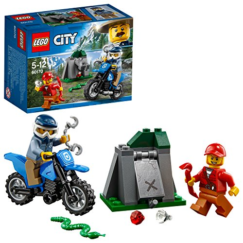 LEGO City 60170 - Offroad-Verfolgungsjagd, Konstruktionsspielzeug