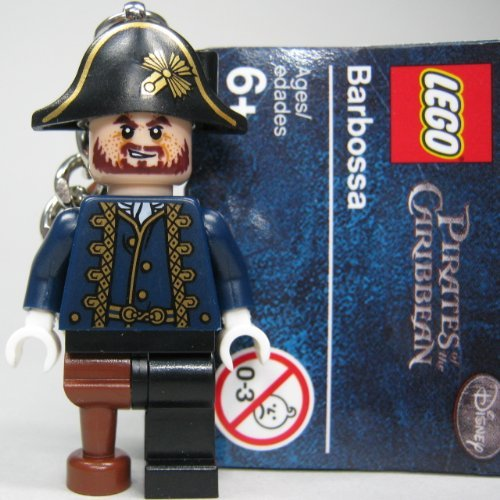 LEGO Pirates of the Caribbean: Captain Hector Barbossa Keychain by LEGO
