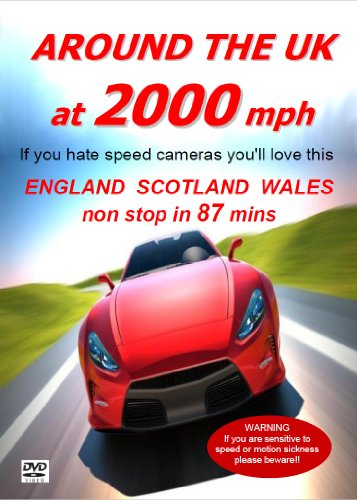Around The UK At 2000 MPH [DVD : the perfect crazy Christmas gift for speedheads!]