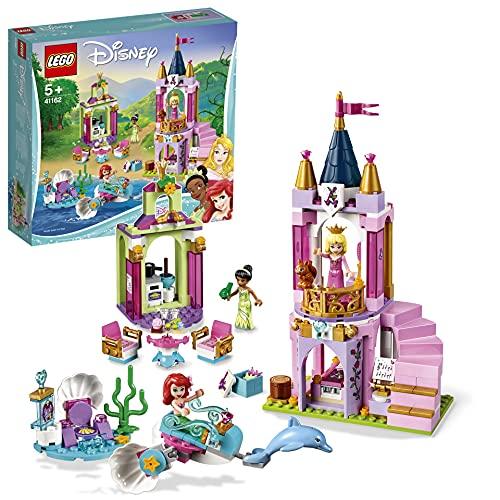 LEGO 41162 Disney Princess Celebración Real de Ariel, Aurora y Tiana (Descontinuado por Fabricante)