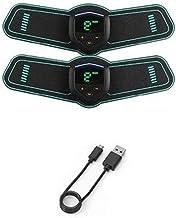 EMS تنشيط العضلات المدربة، البطن مشجعا مقاس واحد واحد لتشكيل الة الة كهربائية   USB شحن خفيف ومحمول