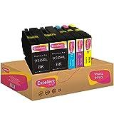 Excellent Print 950XL 951XL 950 XL 951 XL Compatible Cartuchos de Tinta para HP Officejet Pro 8100 8600 8630 251dw