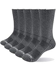YUEDGE Calcetines Deportivos de Senderismo Termicos de Algodon Gruesos de Invierno para Mujer 5 Pack