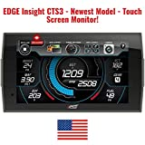 Edge Insight CTS3 Touchscreen Gauge Monitor 84130-3 | Newer Version of CTS2 | Digital Gauge Performance Touch Screen Monitor | Years 96 and Newer