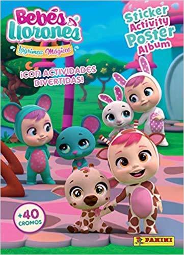 Panini Álbum + 50 Sobres bebés llorones Lágrimas Mágicas