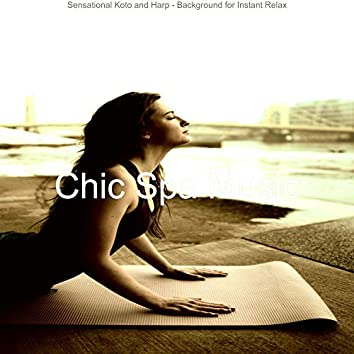 Sensational Koto and Harp - Background for Instant Relax