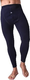 WHSPORT Mens Thermal Winter Warm Long Heat Hold Underwear Leggings Trouser Lightweight Mens Pants, Antibacterial, Breathab...