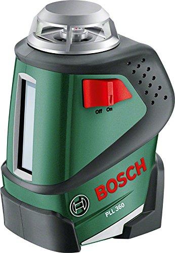 Bosch Láser cruzado y de líneas PLL 360 + trípode TP 320