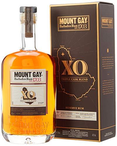 5. Ron extra añejo Mount Gay Extra Old Rum