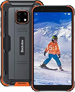 Unlocked Rugged Cell Phone   2021   3-Day Battery   Unlocked   Made for US by Blackview   4/64GB   13MP Camera (Orange)