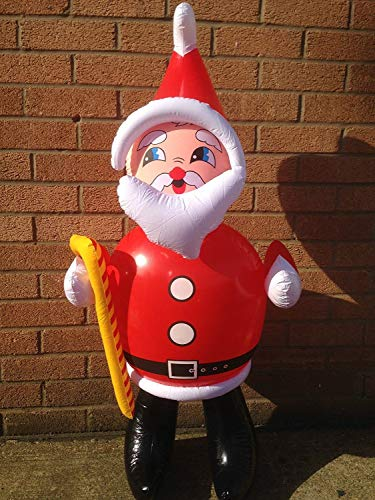Tri Inflatable Santa Claus Father Christmas for Christmas Decoration 100cm