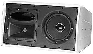 JBL Control 29AV-1-WH Altavoz para Monitor de Interior y Exterior, Color Blanco, Unidad única, Modelo: C29AV-WH-1