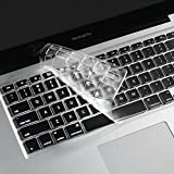 i-buy ultra thin clear tpu keyboard cover film for apple the new macbook 12,keybaord skin protector[eu layout]- clear