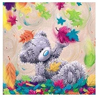5D Diamond Painting Kits for Adults Bear Animals Full Drill Cross Stitch Rhinestone Embroidery for Home Wall Decor DIY Colorful Bear Diamond Arts Kits 12x16Inch