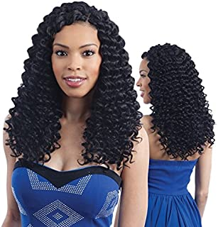 MIRACLE CURL (1 Jet Black) - Freetress 2X Wand Curl Crochet Braid Collection