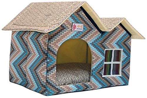 Productos Para Mascotas de Lujo Caliente Mascotas Dog House Cat Litter Ideas ZPP,Azul