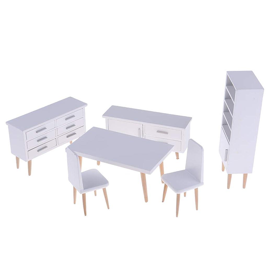 火薬グリップラインSM SunniMix テーブルデスクチェア 本棚 ローキャビネット ミニチュア家具 ドールハウス飾り 装飾
