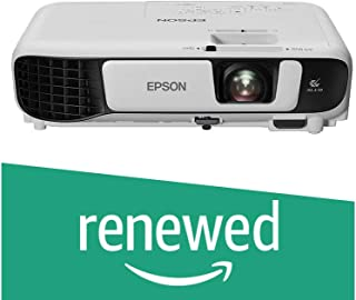 (Renewed) Epson EB-S41 SVGA Projector Brightness: 3300lm with HDMI Port