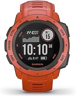 GARMIN 佳明 男式 户外冒险GPS多功能智能运动训练光电心率跑步骑行游泳手表 Instinct本能