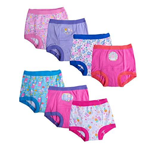 Peppa Pig Girls' Toddler 7k Potty Training Pant, Peppa Assorted, 3T