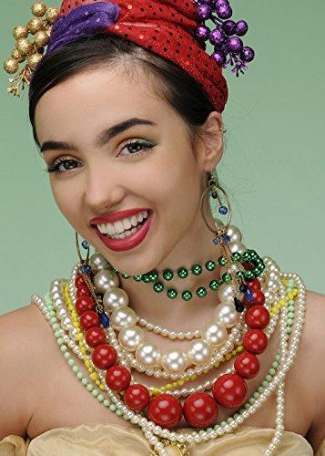 Magic Box Juego de Joyas Estilo Carmen Miranda