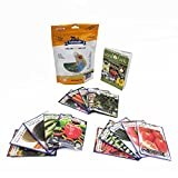 Grannys Garden Heirloom Vegetable Seed Collection - 15 Varieties Non-Gmo Heirloom Beet Carrot Cucumber Basil Kale Lettuce Melon Onion Pea Pepper Squash And Tomato Seeds By Sustainable Seed Company