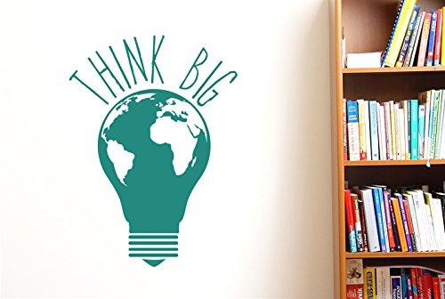 Think Big Earth - Adhesivos decorativos...