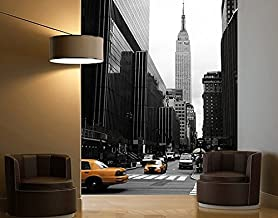 "100x211 cm Tür Fototapete /""New York Blue Night Skyline/"" New York City USA Am"