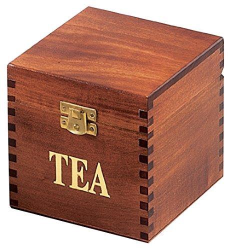 TEA BOX, Poland Handmade Wood Keepsake, Great Gift Idea f/ Family or Friend by PolishArt