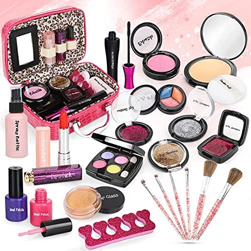 Dreamon Maquillage Jouet Petite Fille, 24PCS Malette...