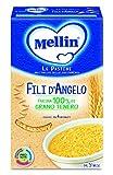 Mellin Pastina Fili d'Angelo, con Farina 100% di Grano Tenero, 12 Confezioni da 320 gr...