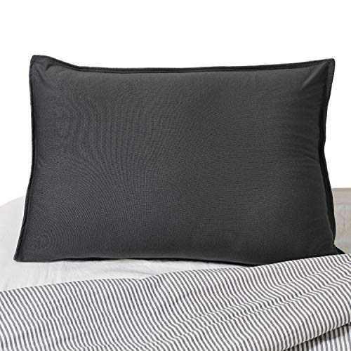 Yogibo SleepyBo Pillow for Sleeping, Soft, Comfortable Contour Pillow, Best for Neck Support, Pain and Comfort, Provides Different Levels of Firmness, Filled with Comfy Fibeads, Dark Grey