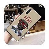 Coque super mignonne pour Huawei Honor 30 20 10 9 8 8x 8c v30 Lite View pro-a3-honor9xpro