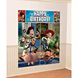 Disney Toy Story Scene Setters Wall Banner Decorating Kit Birthday Party Supplies